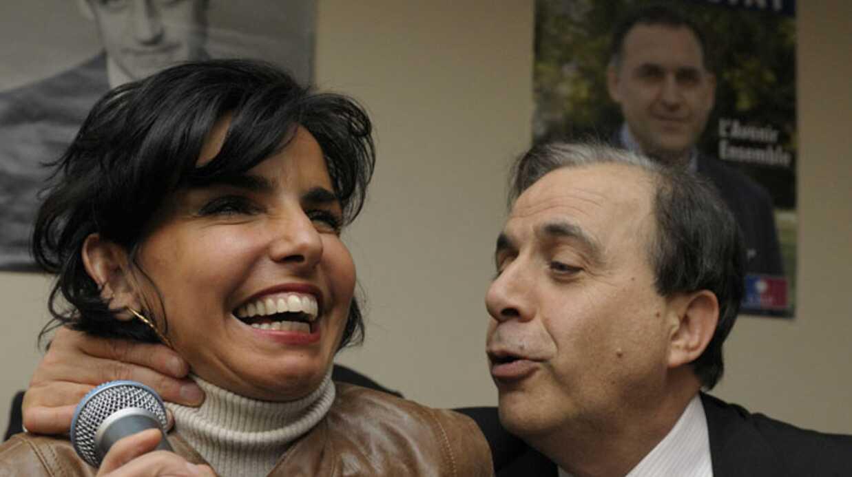PHOTOS Rachida Dati chahute avec Roger Karoutchi