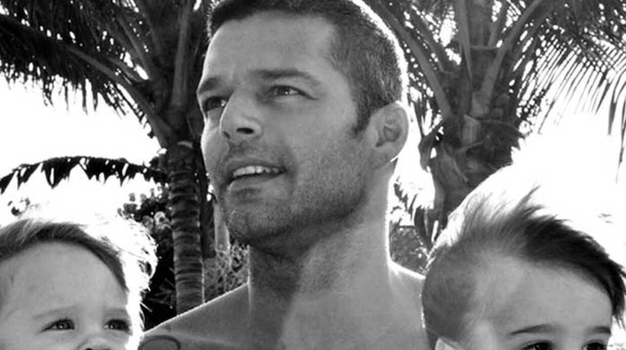 PHOTOS Ricky Martin, un papa poule
