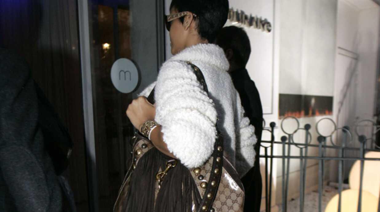 Rihanna à Paris pour chanter à la Star Academy