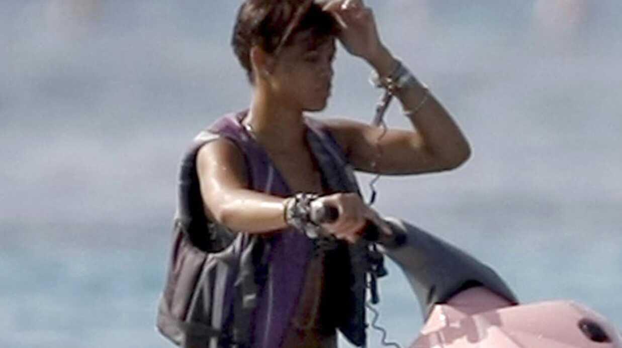 Rihanna et Chris Brown en vacances à la Barbade