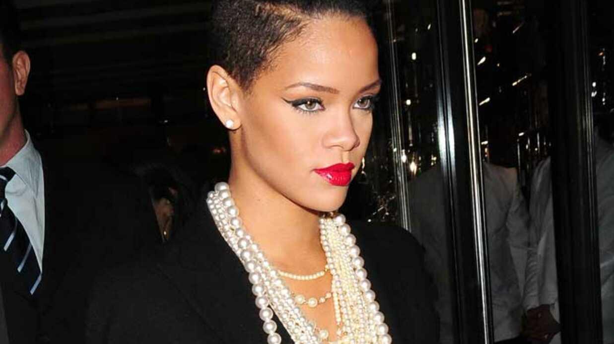 LOOK Rihanna, élégante pour Inglorious Basterds
