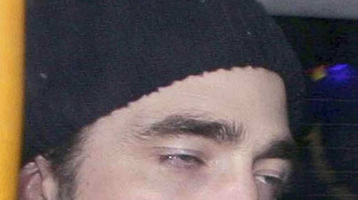 PHOTOS Robert Pattinson ivre mort