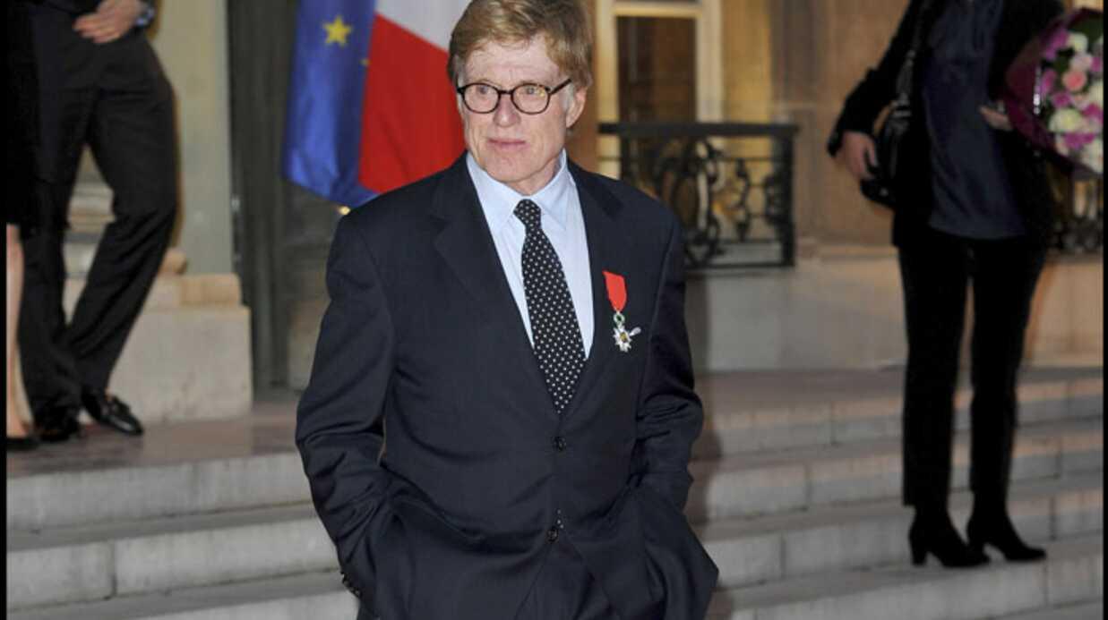 Robert Redford: chevalier de la Légion d'honneur