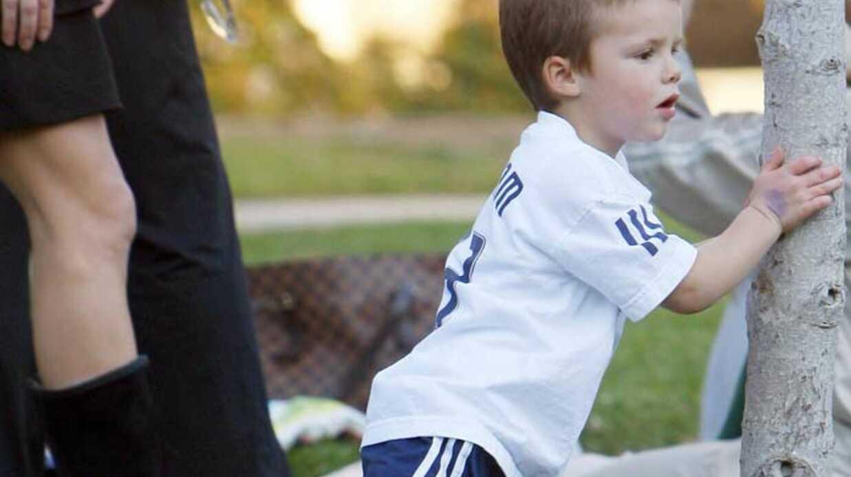 PHOTOS Cruz et Romeo Beckham la jouent comme papa