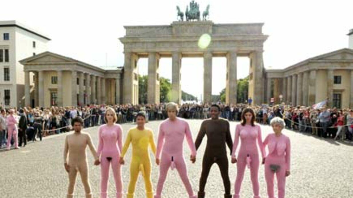 PHOTOS Brüno: encore plus provocant à Berlin