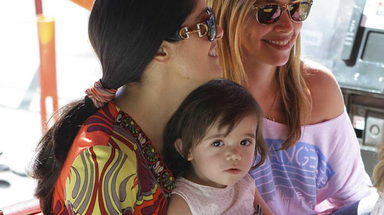 PHOTOS Salma Hayek: un dimanche avec Valentina