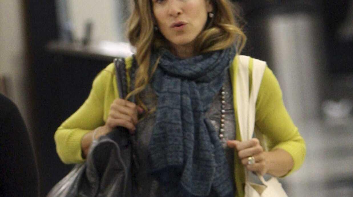 Sarah Jessica Parker à l'aéroport