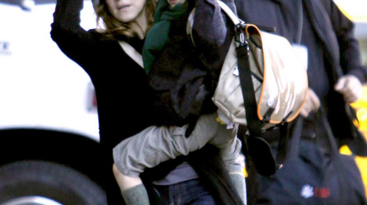 Sarah Jessica Parker et son fils James dans le froid new-yorkais