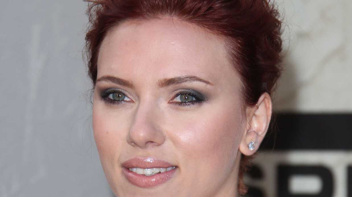 PHOTOS Scarlett Johansson sexy aux Guys Choice Awards