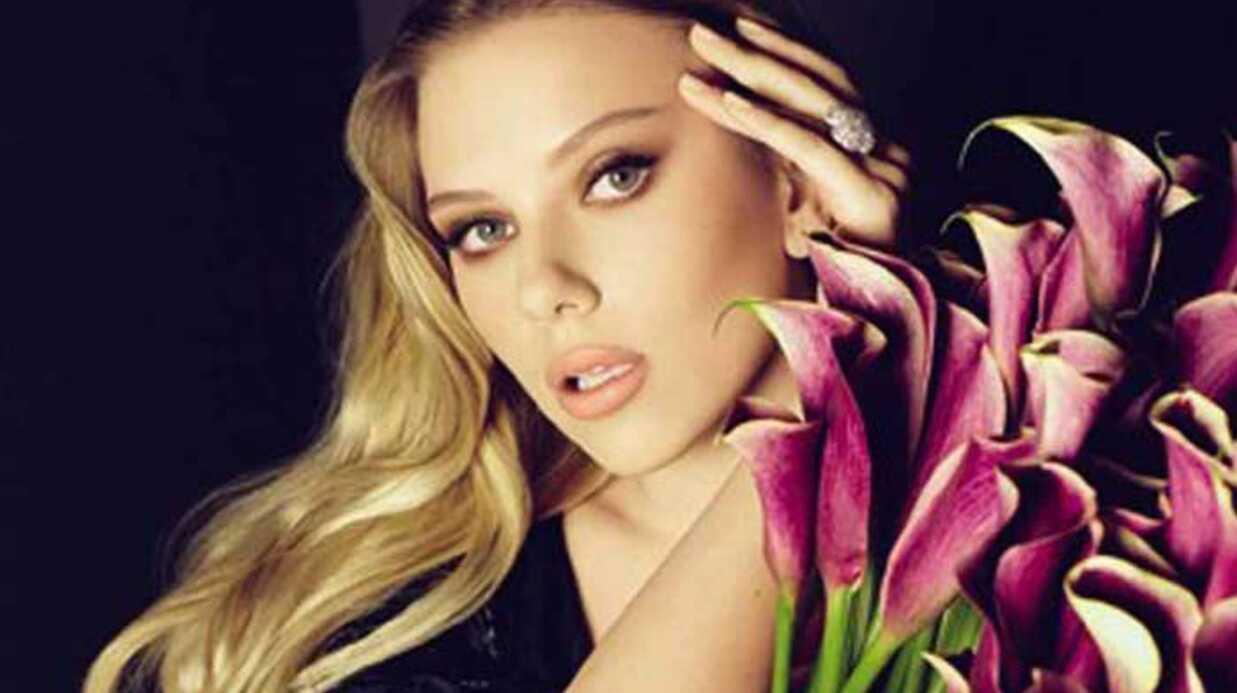 PHOTOS Scarlett Johansson, égérie de Moët et Chandon