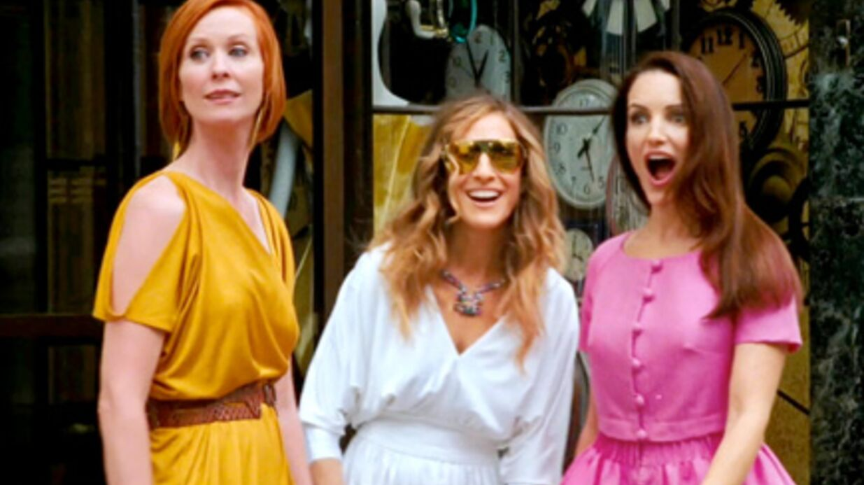 PHOTOS Sex and the City: Carrie et ses copines en tournage