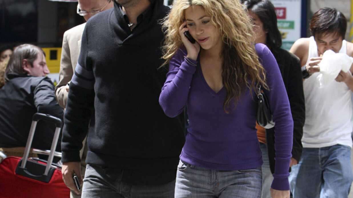Shakira est actuellement à Paris avec son amoureux
