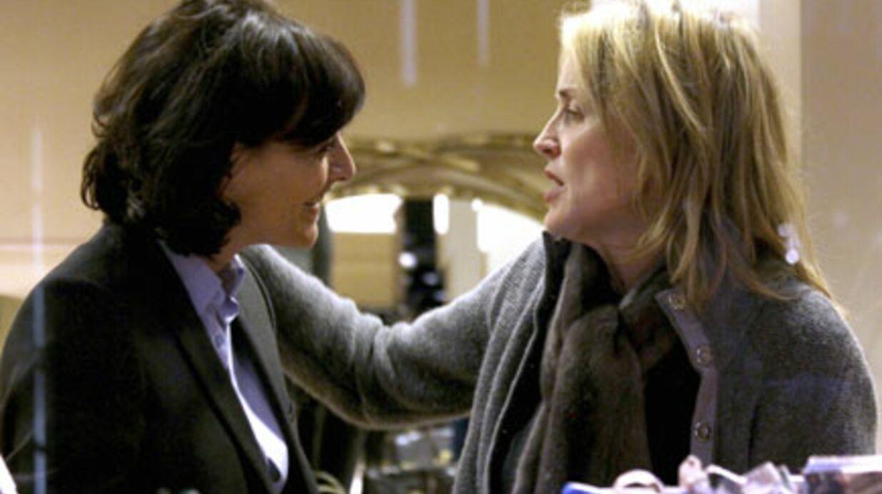 Sharon Stone et Inès de la Fressange: chaudes retrouvailles