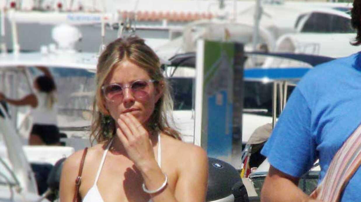 PHOTOS La star de G.I. Joe, Sienna Miller en vacances à Ibiza