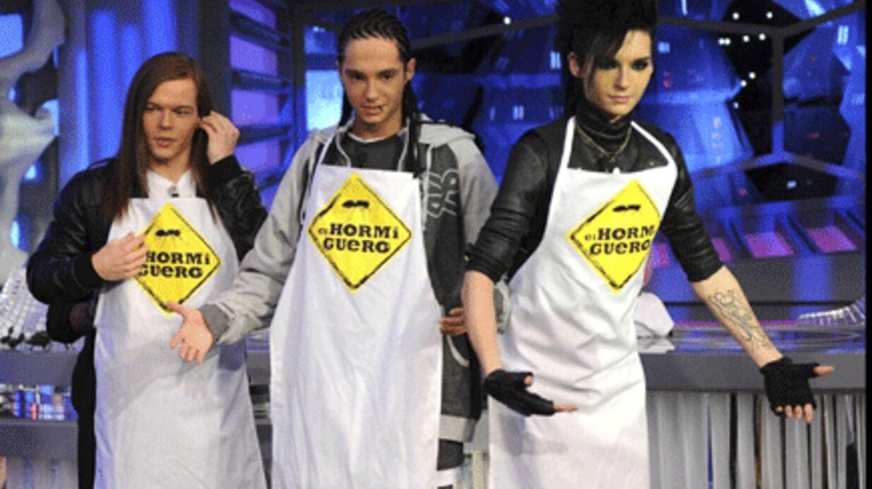 PHOTO Tokio Hotel sur la voie de Maïté