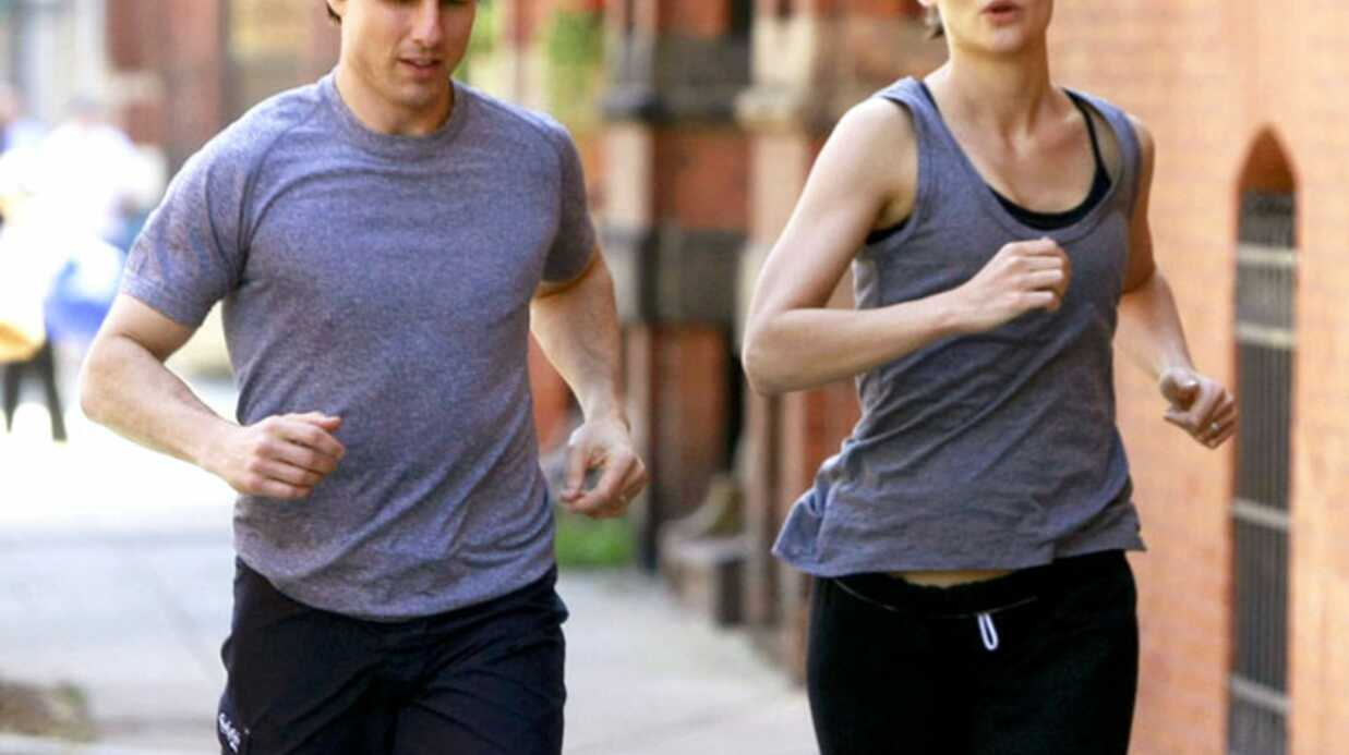 PHOTOS Tom Cruise et Katie Holmes : footing en duo