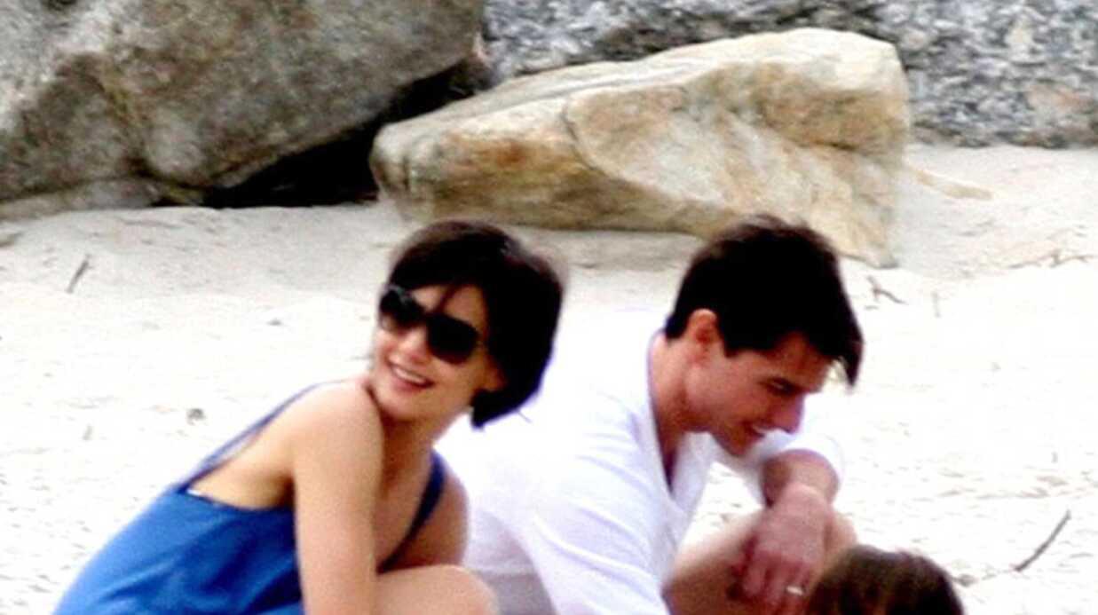PHOTOS Tom Cruise, Katie Holmes et Suri au Brésil