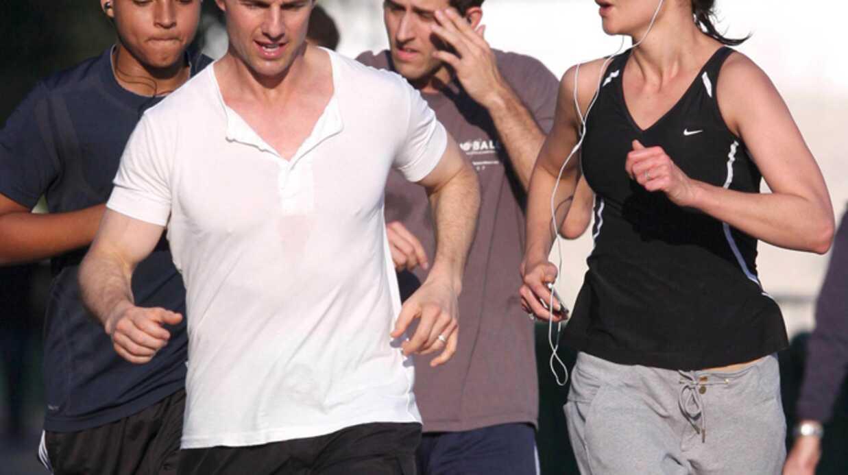 PHOTOS: Tom Cruise et Katie Holmes, jogging en famille