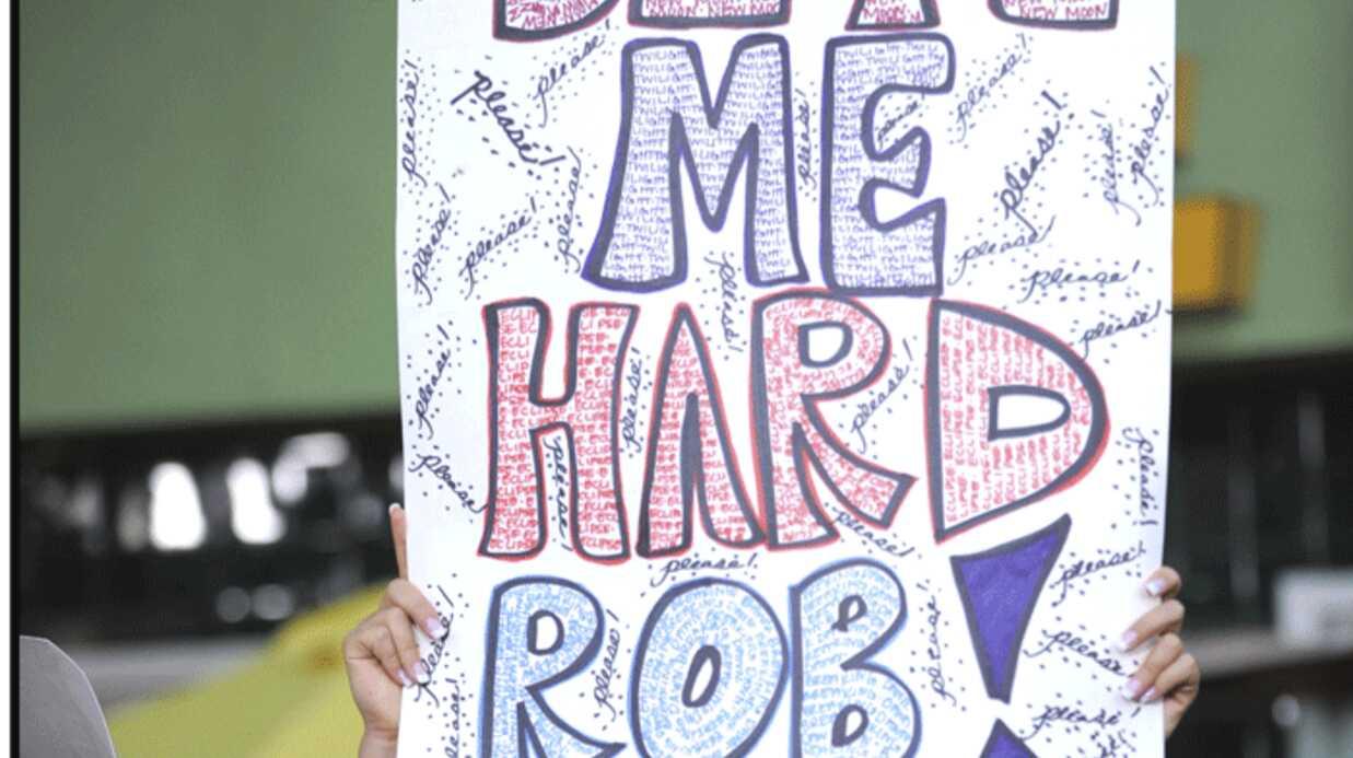 PHOTOS Twilight: Robert Pattinson et ses fans