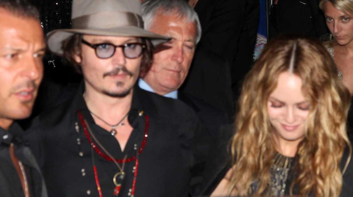PHOTOS Vanessa Para­dis et Johnny Depp à Cannes