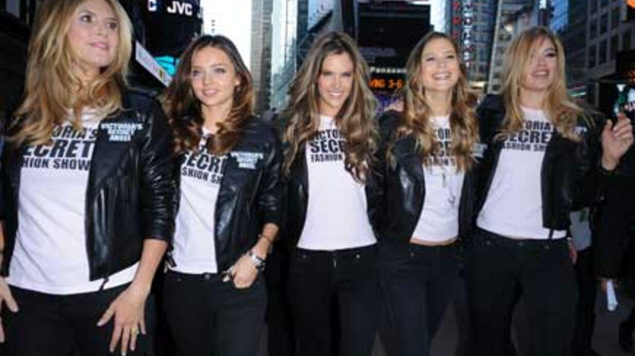 PHOTOS Sexy, les Victoria's Secret à New York