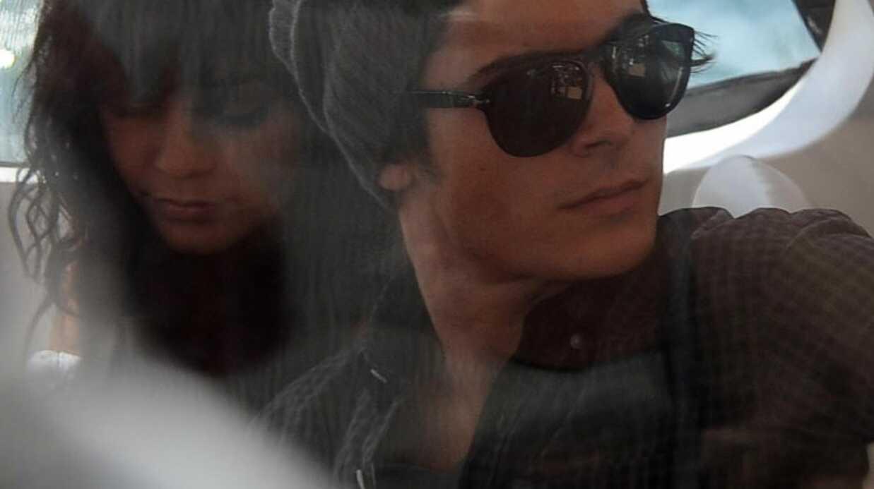 Zac Efron et Vanessa Hudgens en Australie