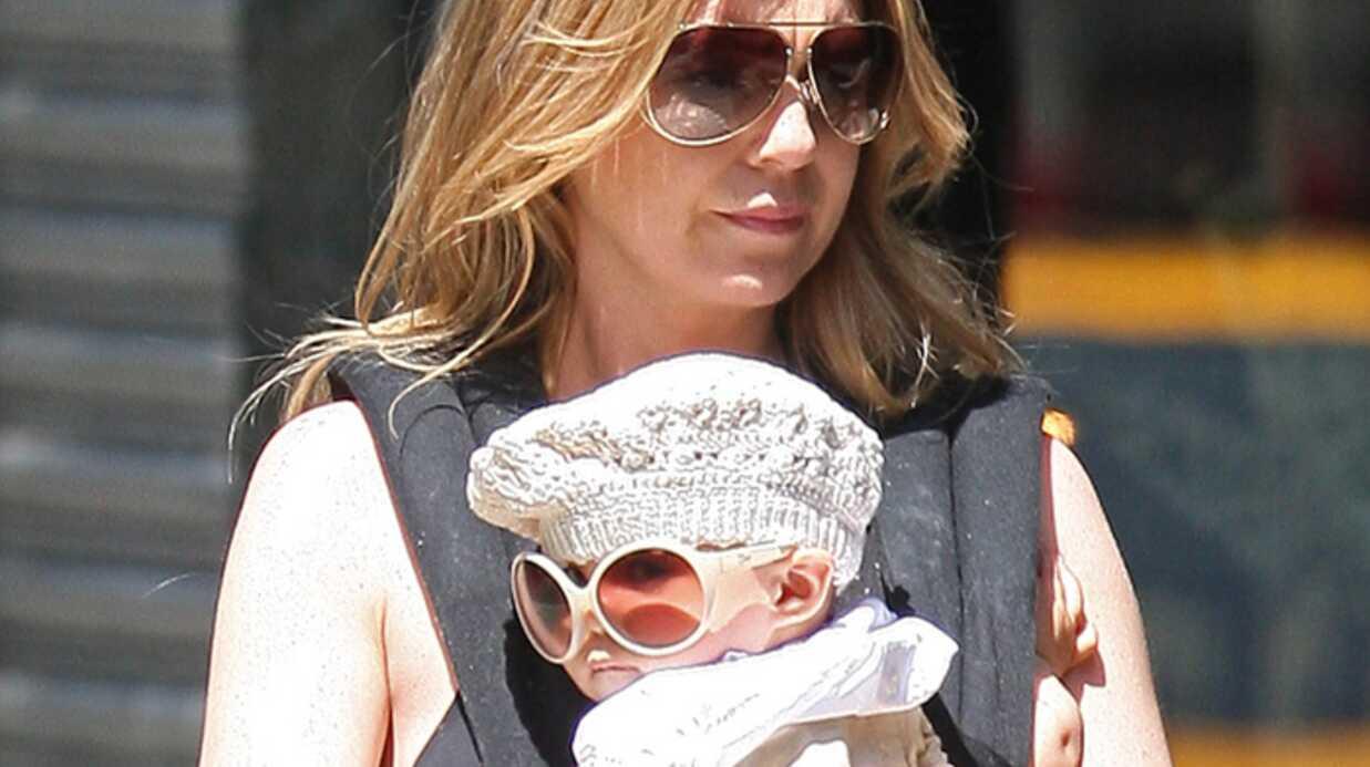PHOTO Ellen Pompeo présente sa fille