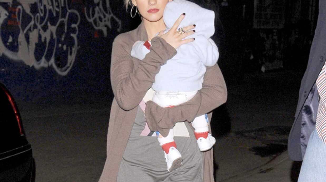 Christina Aguilera Il faut entretenir la flamme