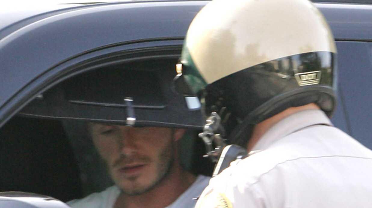 David Beckham Arrêté par la police!