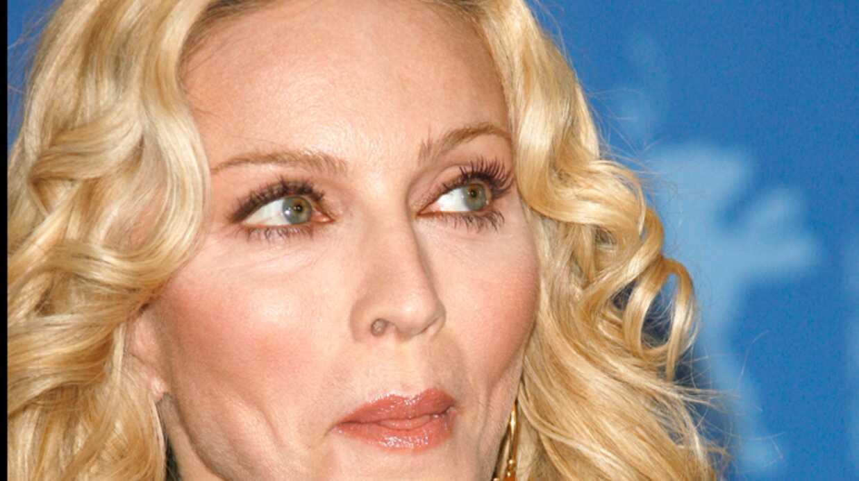 Madonna Grondée très fort!