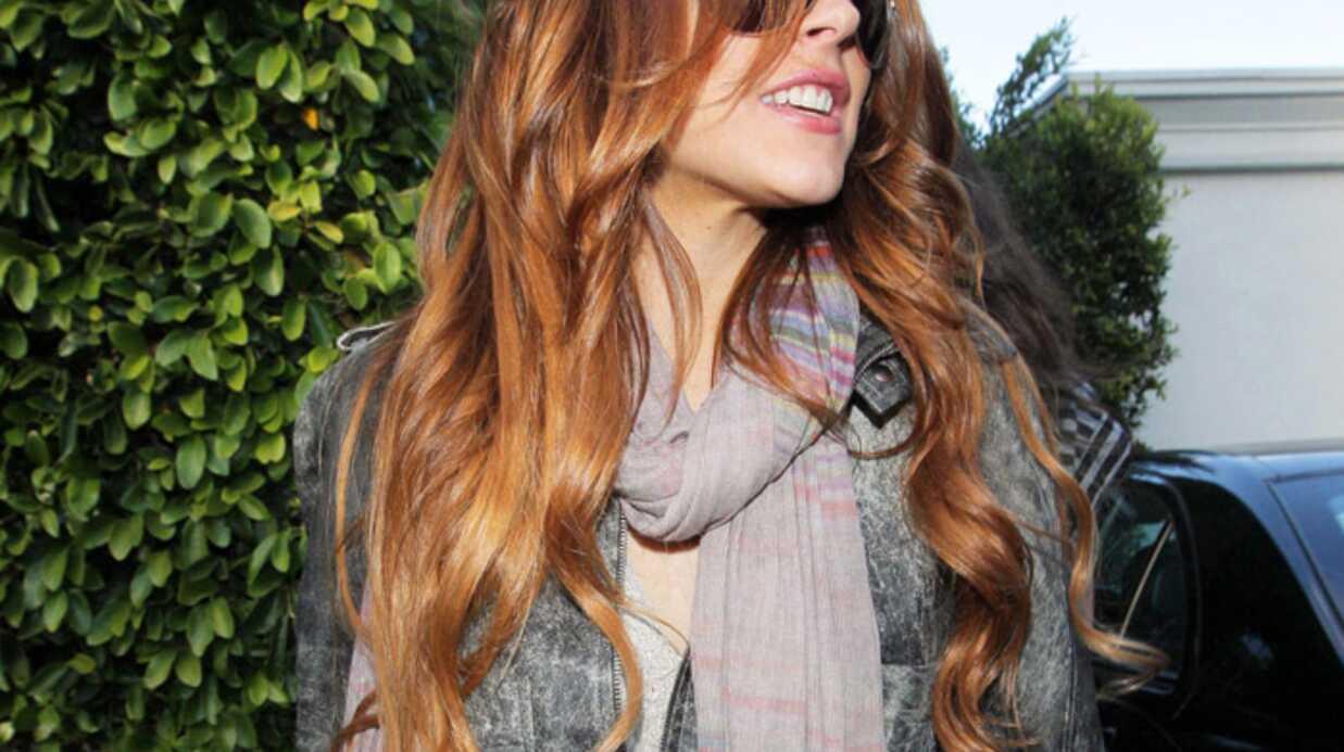 LOOK Lindsay Lohan a changé de couleur de cheveux