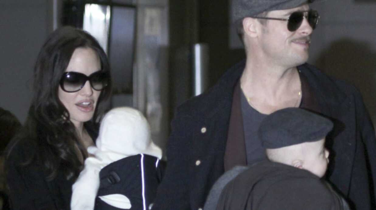Brad Pitt et Angelina Jolie: leurs enfants dérangent