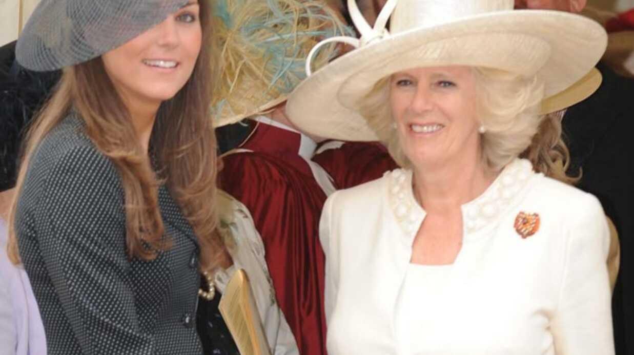 Kate Middleton: son déjeuner avec Camilla