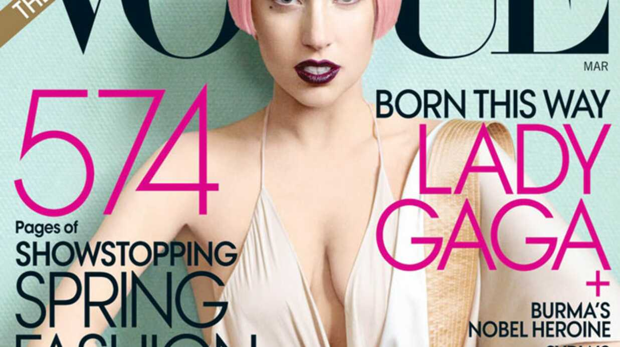 Lady Gaga en Une de Vogue US