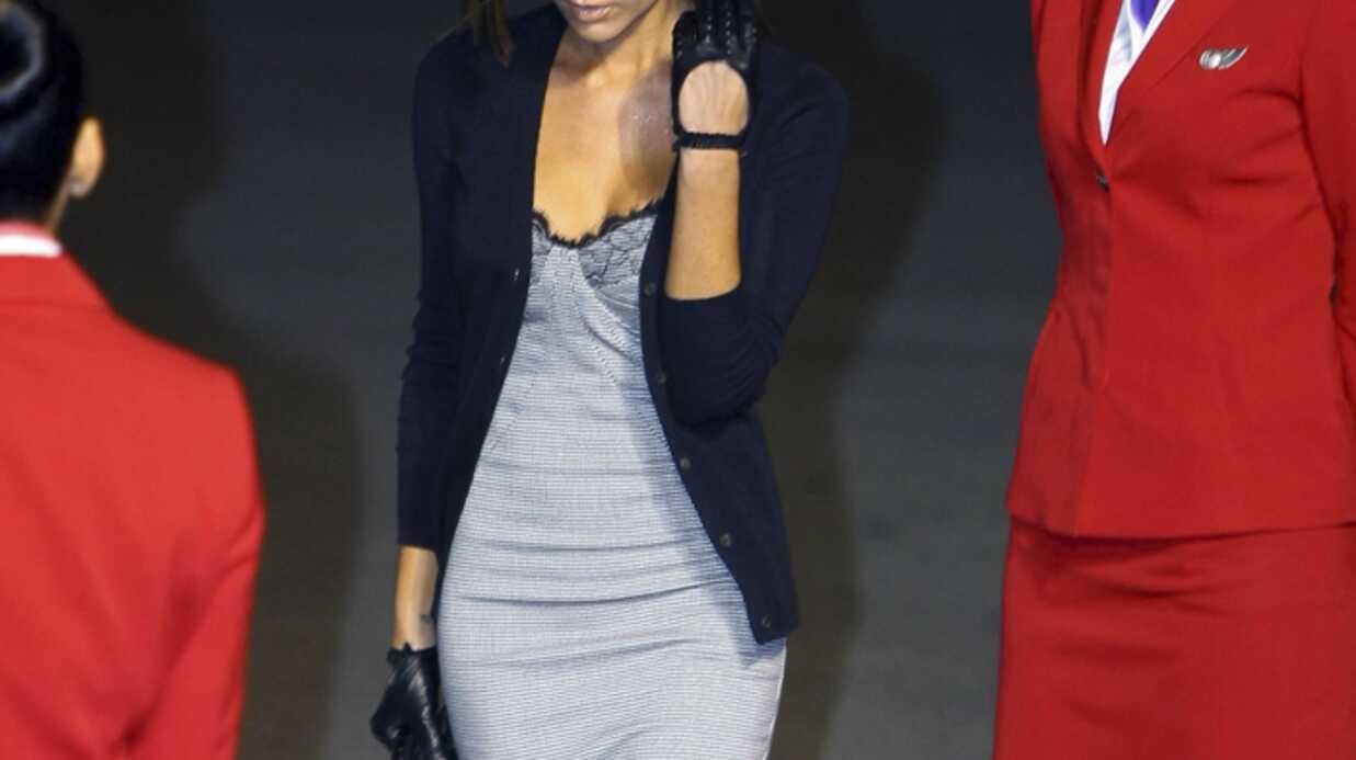 Victoria Beckham a échappé au pire lors de son dernier voyage en avion