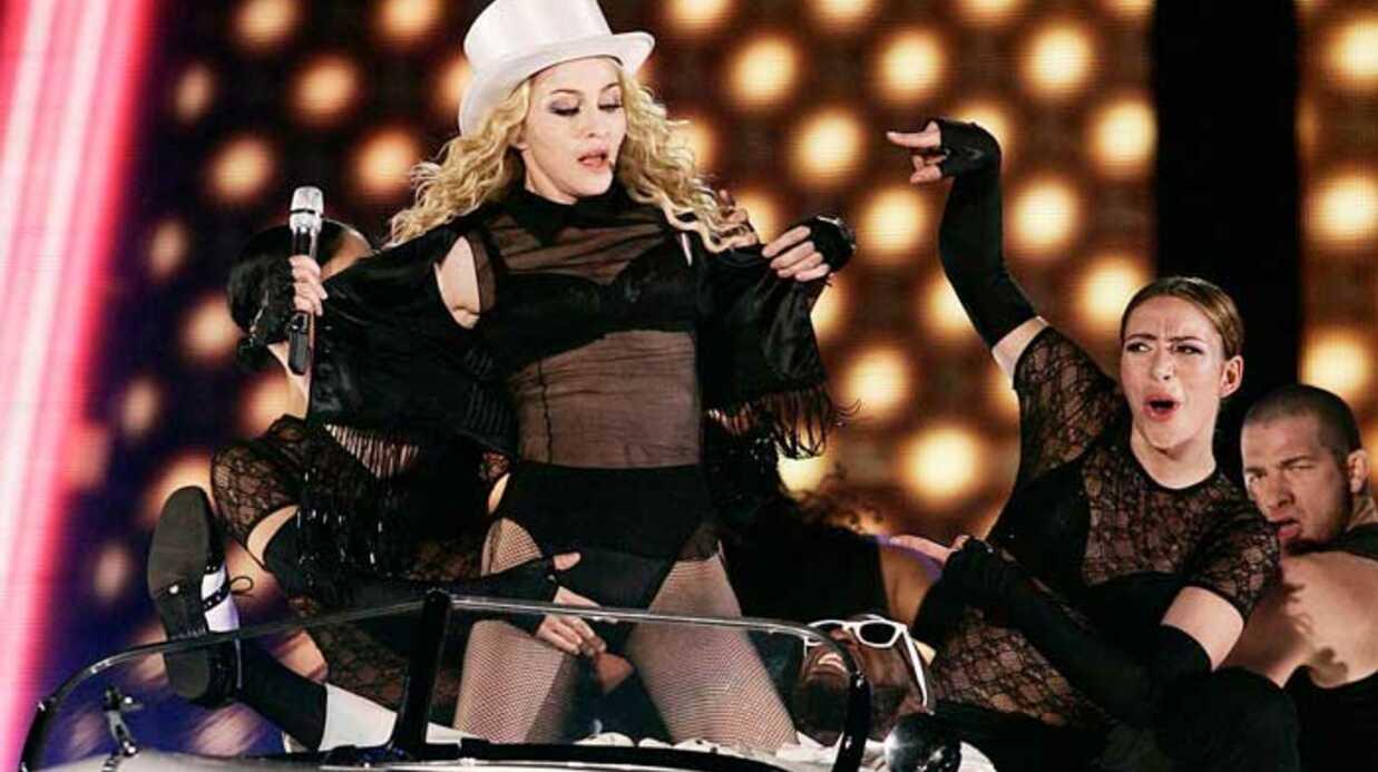 Madonna à Paris: Voici y était