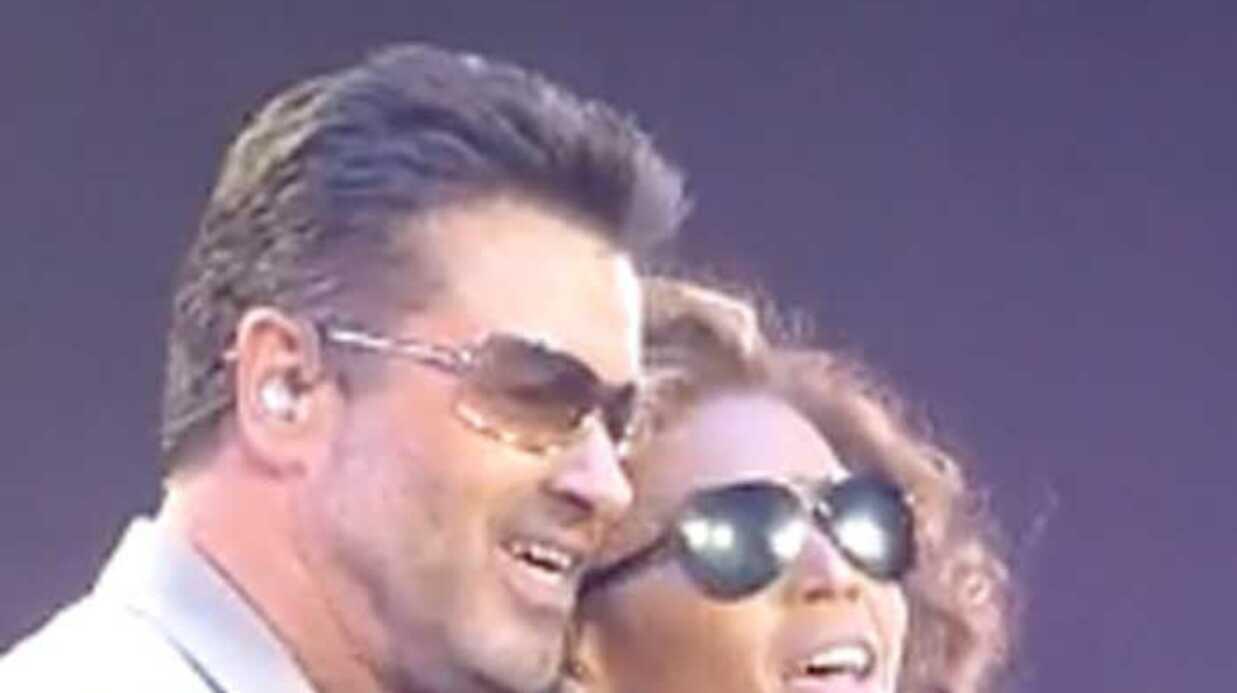 VIDEO George Michael rejoint Beyonce sur scène