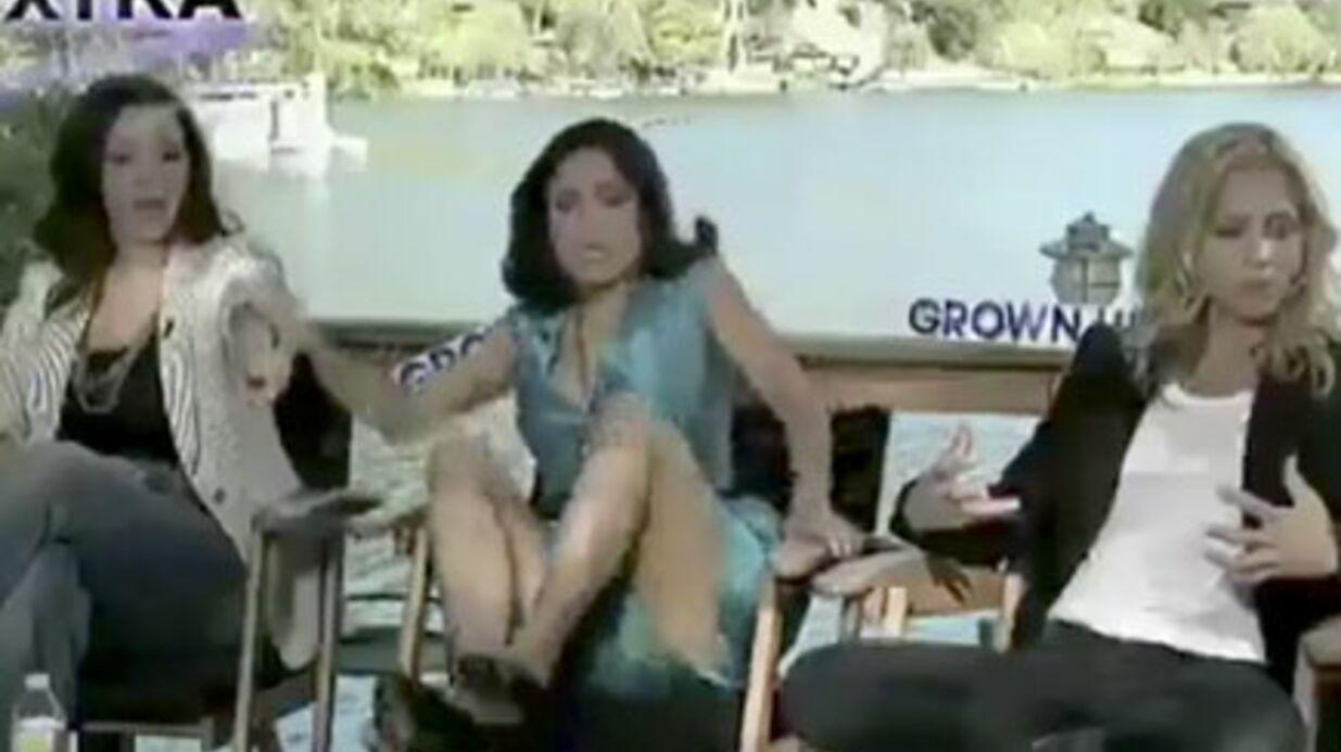 VIDEO Salma Hayek effrayée par un serpent