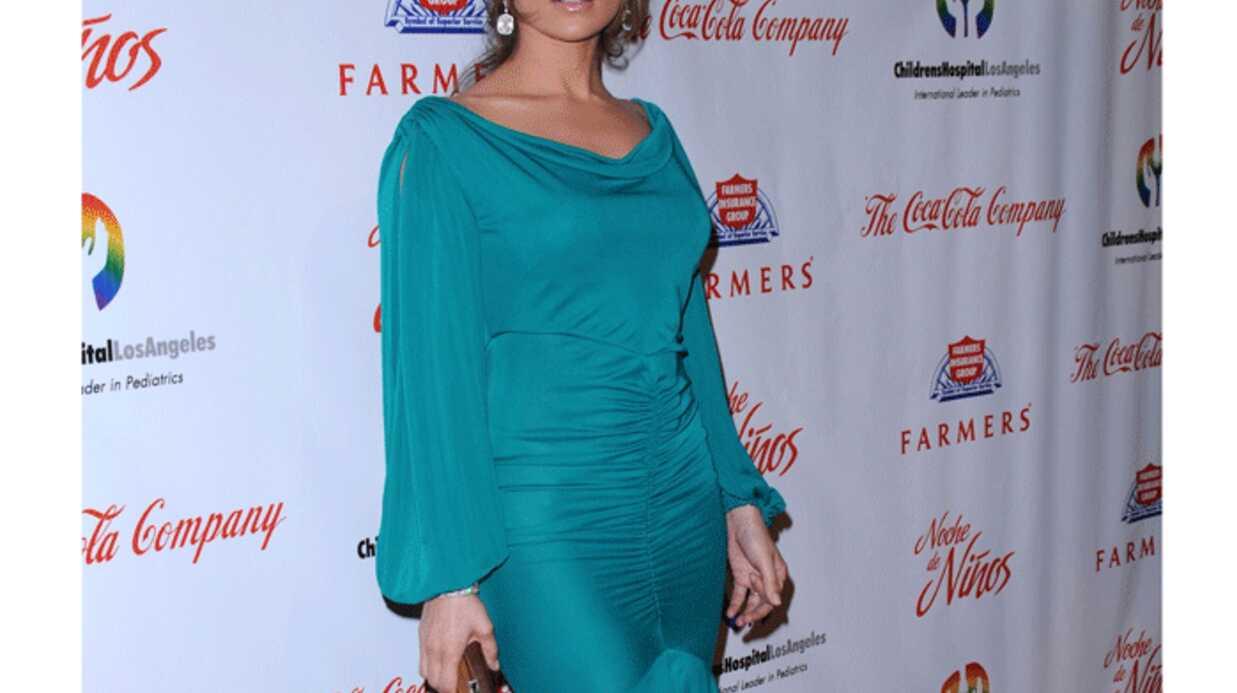 LOOK Jennifer Lopez en femme fatale