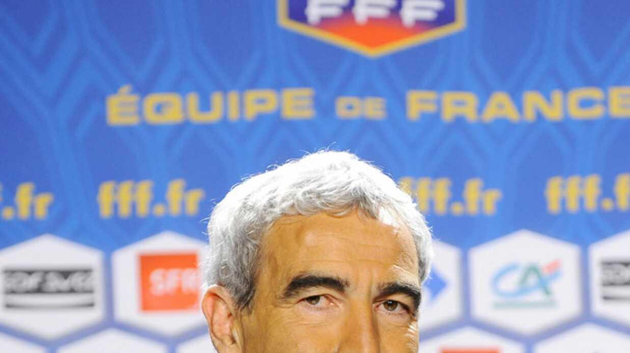 Raymond Domenech: coach dans une émission de France 3