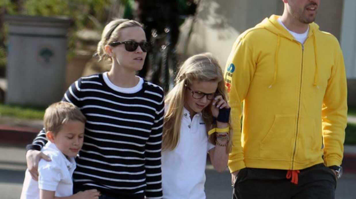 Reese Witherspoon: lune de miel en famille