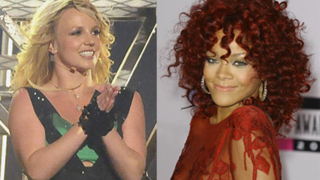 AUDIO Rihanna et Brit­ney Spears en duo sur le remix de S&M