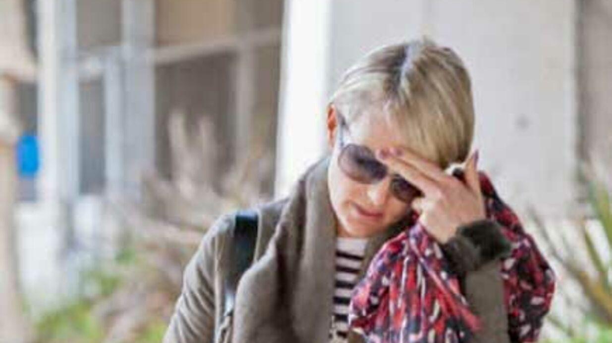 Johnny Hallyday dans le coma: les larmes de Laeticia