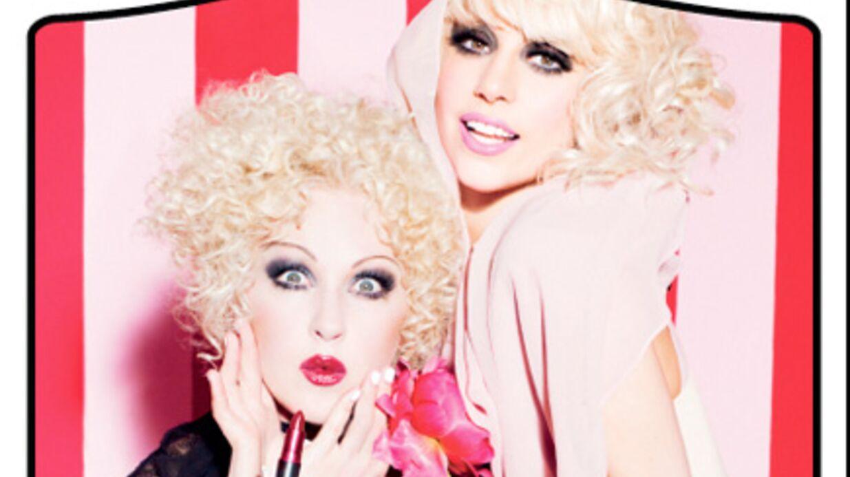 Lady Gaga et Cyndi Lauper: duo glamour pour MAC