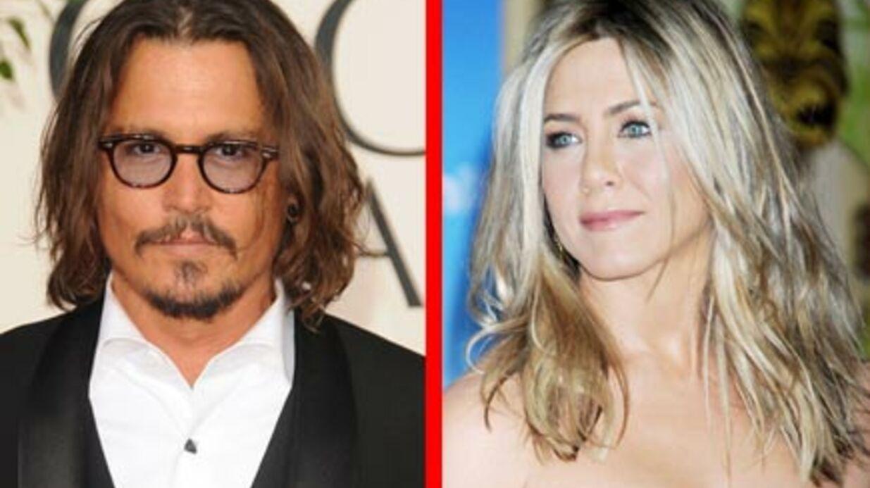 Johnny Depp et Jennifer Aniston: le top pour la Saint-Valentin