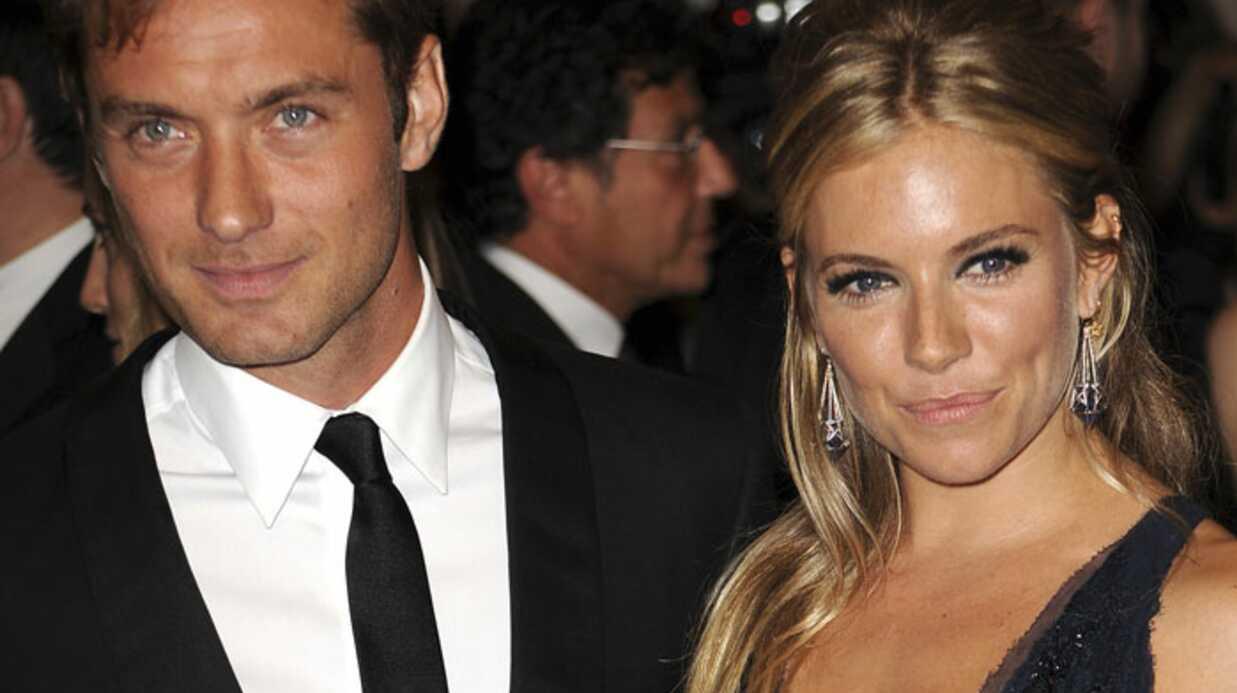 Jude Law brisé par sa rupture avec Sienna Miller