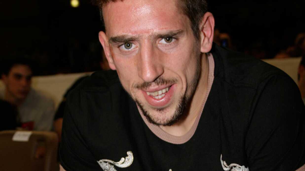 Franck Ribery Une deuxième petite fille