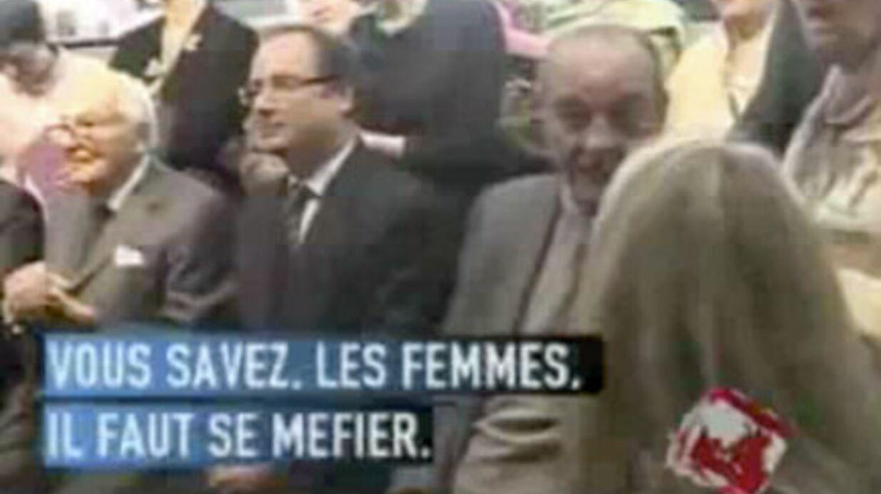 VIDEO  Jacques Chirac: Bernadette jalouse?