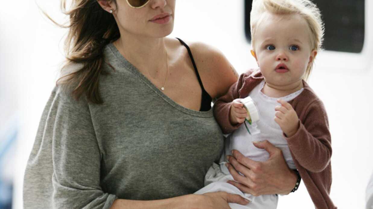 Angelina Jolie Shiloh, paria de la famille?