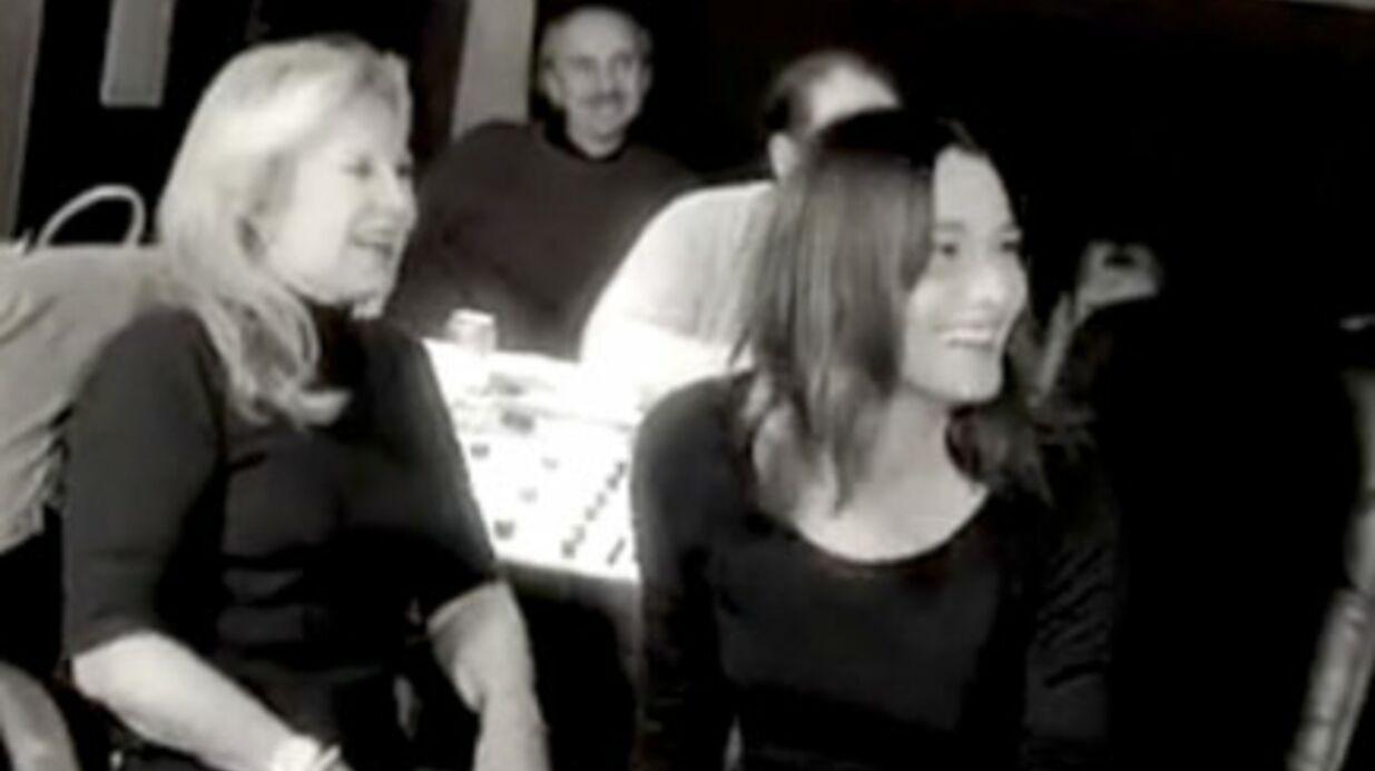 Video: la chanson de Carla Bruni pour Sylvie Vartan